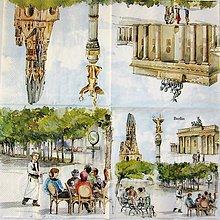 Papier - Servítka  RM 30 - Berlín - 10860911_