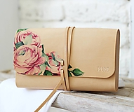 Kabelky - Kabelka do ruky CLUTCH ENGLISH ROSE - 10861846_