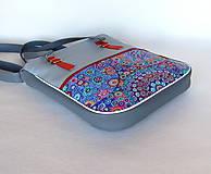 Veľké tašky - Basic - Zipp - Modročervená - 10861786_