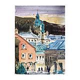 Obrazy - Banská Štiavnica - 10861067_