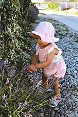 Detské oblečenie - CUKRÍK- Ľanové romperky SIMPLE - 10863117_