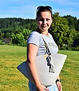 Kabelky - Letní kabelka ve lnové 2012 - 10862651_