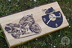 Hodiny - Motorkárske hodiny - 10862112_