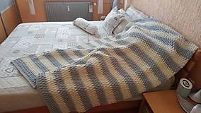 Jemnučká deka z detskej priadze aj pre dospelých :-)