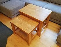 Nábytok - Rozkladací stolík - 10861595_