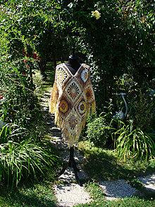 Iné oblečenie - Pončo Sahara - 10862007_