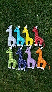 Hračky - Žirafka - 10864676_