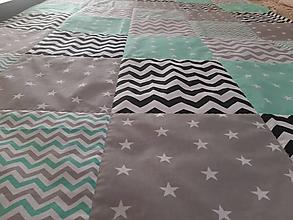 Úžitkový textil - Prehoz na posteľ ... - 10863523_