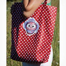 Nákupné tašky - Nákupná taška - OčiPuči švihák Winco - 10864352_