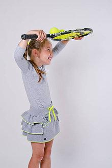 Detské oblečenie - Tenisová suknička - 10864394_