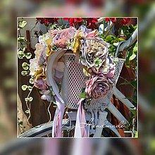 Ozdoby do vlasov - kvetinová čelenka / parta - 10864042_