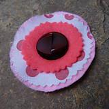 Odznaky/Brošne - brož kvietok gombíkový v ružovej - 10864897_