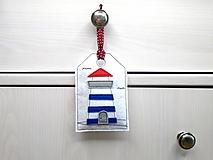 Levanduľová dekorácia s prímorským dizajnom (Maják)