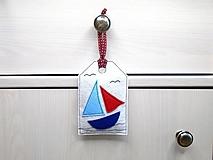 Dekorácie - Levanduľová dekorácia s prímorským dizajnom - 10864271_
