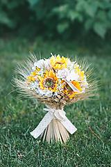 Svadobná kytica SLNEČNICA
