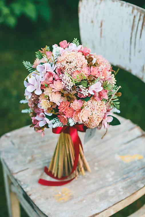 Svadobná kytica ROMANTIK