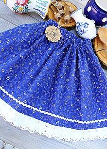 Detské oblečenie - Detská folklórna suknička - 10864277_