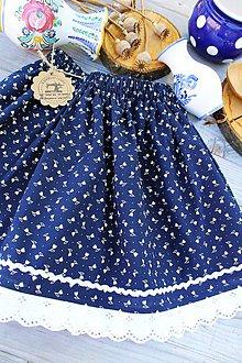 Detské oblečenie - Detská folklórna suknička - 10864302_