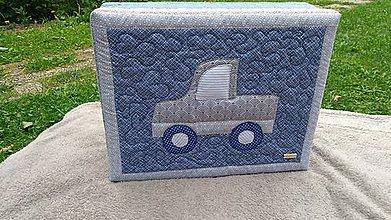 Úžitkový textil - Praktický detský podsedák - 10863384_