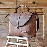 Veľké tašky - Dámska vintage aktovka - 10863697_
