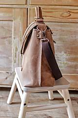 Veľké tašky - Dámska vintage aktovka - 10863699_