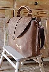 Veľké tašky - Dámska vintage aktovka - 10863700_