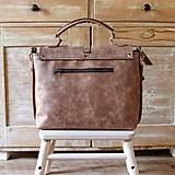 Veľké tašky - Dámska vintage aktovka - 10863701_