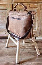 Veľké tašky - Dámska vintage aktovka - 10863703_