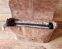 Veľké tašky - Dámska vintage aktovka - 10863704_