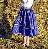 Detské oblečenie - Starosvetská sukňa (rastúca) - 10863621_