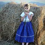 Detské oblečenie - Starosvetská sukňa (rastúca) - 10863622_