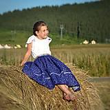 Detské oblečenie - Starosvetská sukňa (rastúca) - 10863623_