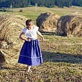 Detské oblečenie - Starosvetská sukňa (rastúca) - 10863650_