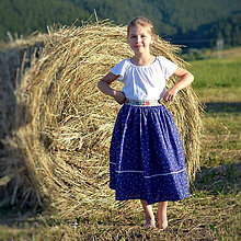 Detské oblečenie - Starosvetská sukňa (rastúca) - 10863695_