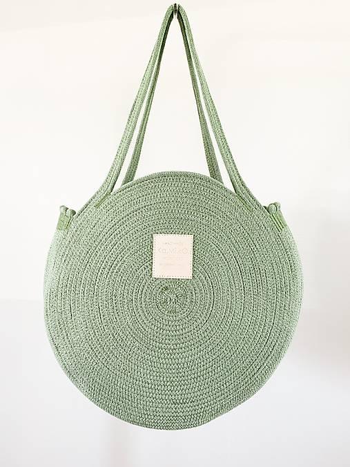 Veľké tašky - ZERO WASTE Taška Eukalyptus - 10863970_