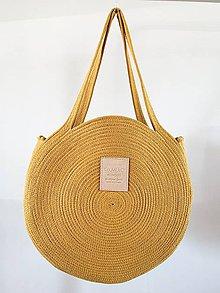 Veľké tašky - ZERO WASTE Taška Okrová - 10863950_