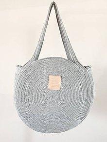 Veľké tašky - ZERO WASTE Sivá - 10863979_