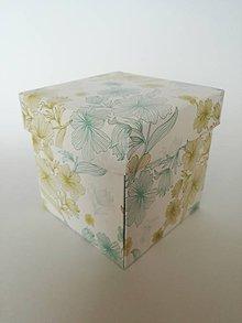 Krabičky - Krabička na peniaze pre novomanželov - 10864343_
