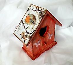 Pre zvieratká - vtáčia búdka - 10864896_