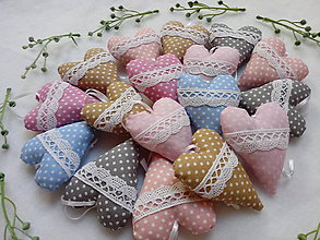 Darčeky pre svadobčanov - Svadobné srdiečká - 10863278_