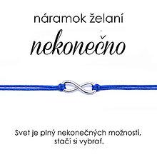 Náramky - náramok želaní Nekonečno - 10865738_