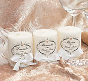 Svietidlá a sviečky - Darček pre hostí #32 - 10865981_