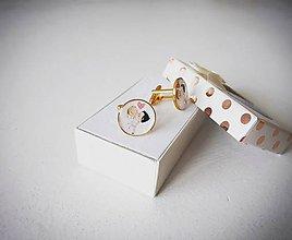 Šperky - Manžetové gombíky - 10866694_