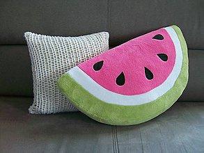 Úžitkový textil - Vankúš Melón - 10865555_