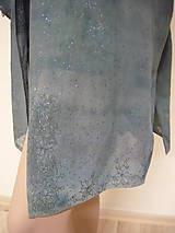Tuniky - tunika - košeľa, ručne maľovaná, originál, 1 ks - 10866960_