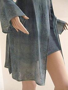 Tuniky - tunika - košeľa, ručne maľovaná, originál, 1 ks - 10866961_