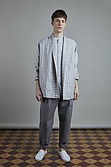 Oblečenie - ľanový kabátik AKIRA pánský - 10866003_