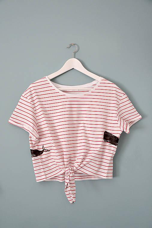 AKCIA ! - tričko, vorvaň, dámske L