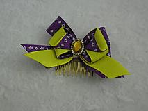 Ozdoby do vlasov - Fialová V. (Víla) - 10865561_