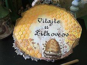 Dekorácie - majstrovi včelárovi... - 10865265_
